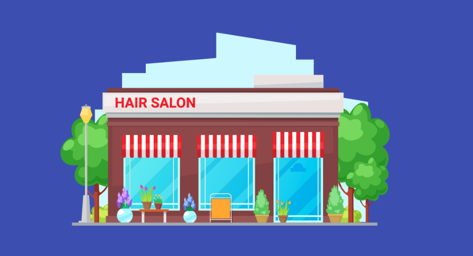 Amazon hair salon