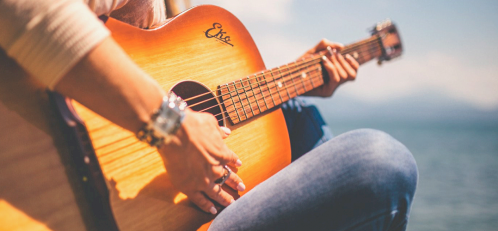 Guitar lessons on TikTok