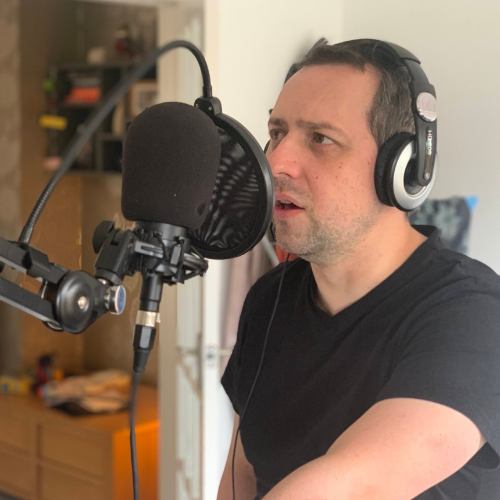 Colin Kelly professional VoiceOver